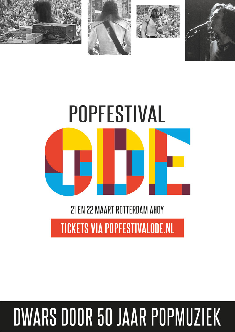 Popfestival ODE Ahoy Rotterdam